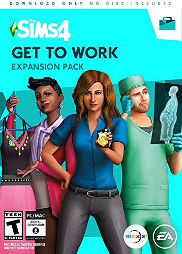 The Sims 4 Get to Work - Get to Work Edition