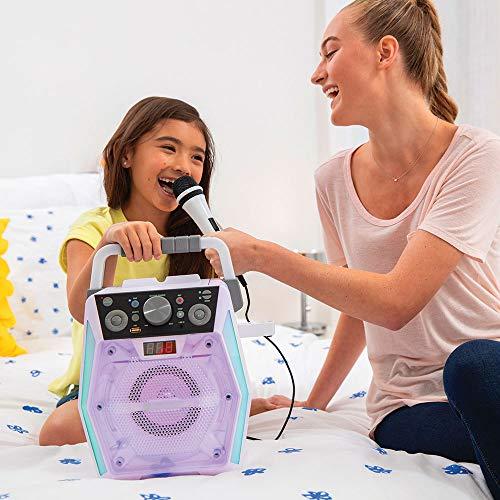 The Singing Machine SML2200 Glow - Dispositivo para karaoke con Bluetooth CDG