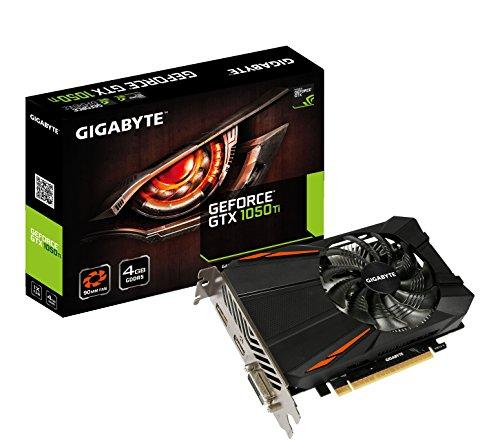 Gigabyte GeForce GTX 1050 Ti D5 4G NVIDIA GeForce GTX 1050 Ti - Tarjeta gráfica