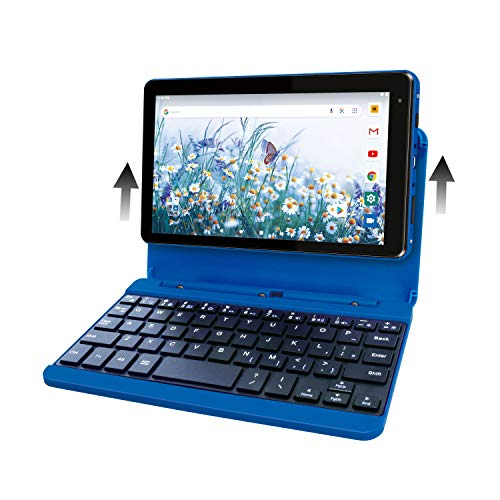RCA Voyager Pro+ [RCT6876Q22K00] 7 pulgadas 2GB RAM 16GB almacenamiento con teclado funda Tablet Android 10 (Go Edition) (azul)